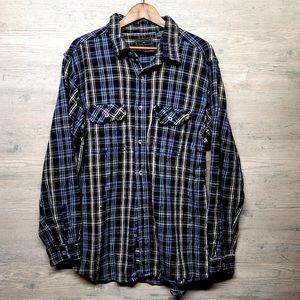 Vintage Field & Stream Heavy Flannel Shirt. Soft!